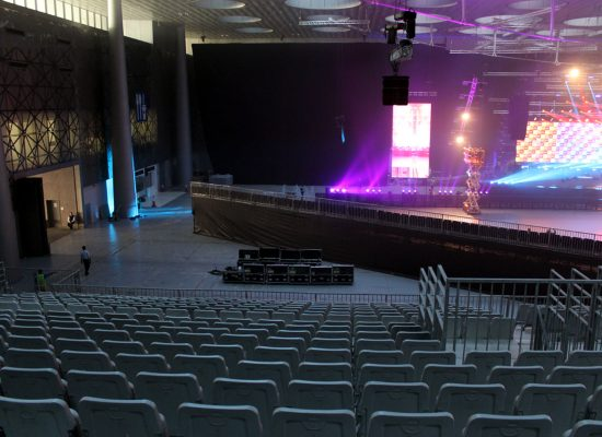 DECC Project Grandstands and Stage 2019